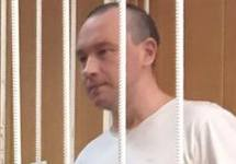 Александр Шпаков в суде, 24.05.2017. Фото: @polinanem