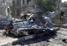 После взрыва в Дамаске, 02.07.2017. Фото: sana.sy