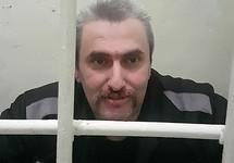 Борис Стомахин в тюрьме в Балашове. Фото Маргариты Ростошинской