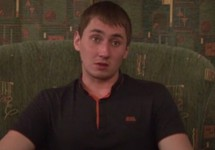 Александр Стешенко дает показания. Кадр съемки ФСБ