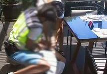 """Задержание """"вора в законе"""". Фото испанской полиции"""