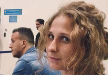 Мария Алехина в аэропорту Шереметьево. Фото из личного твиттера