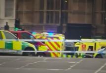 Лондон: оцепление у здания парламента после теракта. Кадр видео Reuters