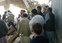 В здании академии после взрыва. Фото: tolonews.com
