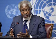 Кофи Аннан, 2012. Источник: Википедия