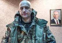 Захар Прилепин на Восточной Украине. Фото: rusvesna.su