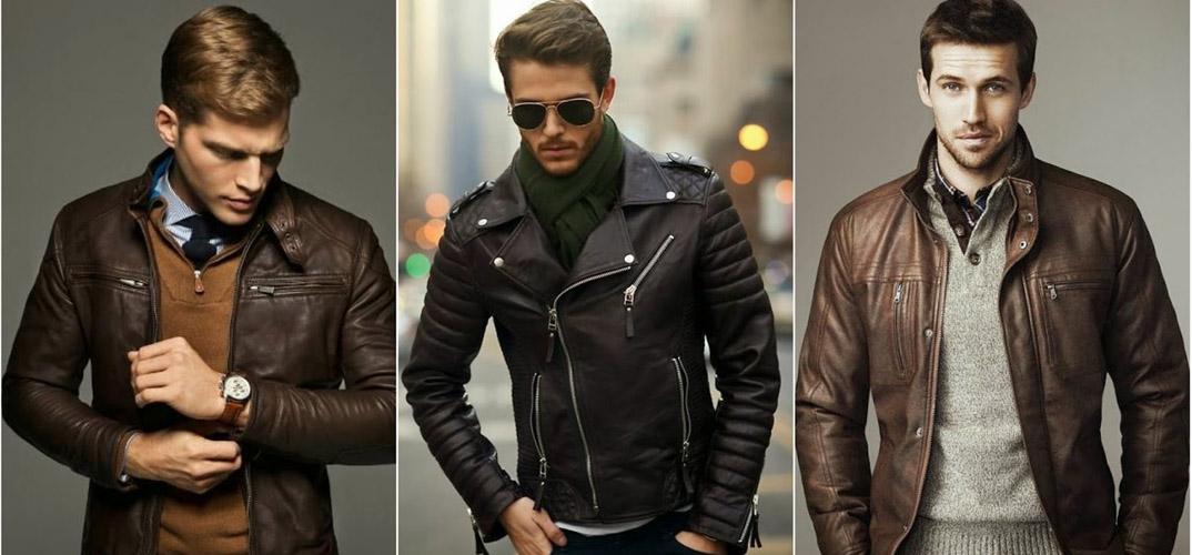 Большой выбор мужских кожаных курток