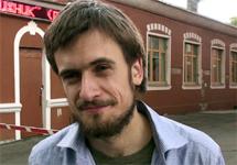Петр Верзилов. Кадр Грани-ТВ