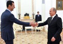 Башар Асад и Владимир Путин. Кремль, 20.10.2015. Фото: kremlin.ru