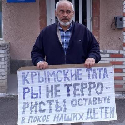 Крым: активист Мустафаев арестован на 12 суток по административному протоколу