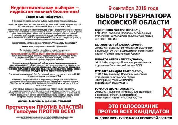 Во Пскове открыто дело о призывах