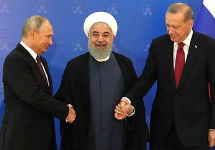 Саммит в Тегеране. Фото: kremlin.ru
