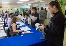 На избирательном участке в Хакасии, 09.09.2018. Фото: r-19.ru