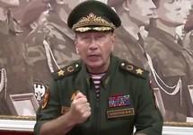 Виктор Золотов. Кадр видеообращения к Алексею Навальному