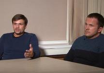 Руслан Боширов (слева) и Александр Петров. Кадр RT