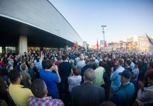 Митинг во Владивостоке, 17.09.2018. Фото: vladnews.ru