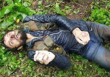 """Убитый в Ахчой-Мартановском районе. Фото: телеграм-канал """"Силовики"""""""