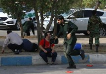 После теракта в Ахвазе. Фото: tasnimnews.com