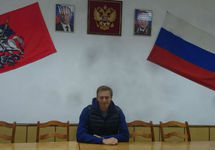 """Алексей Навальный в ОП """"Даниловский"""". Фото из твиттера Киры Ярмыш"""