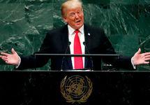 Дональд Трамп на сессии Генассамблеи ООН. Фото: edition.cnn.com