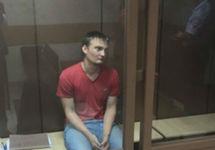 Михаил Беньяш в суде, 25.08.2018. Фото: ФБ-страница Алексея Аванесяна