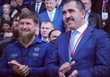 Рамзан Кадыров и Юнус-Бек Евкуров. Фото: vesti95.ru
