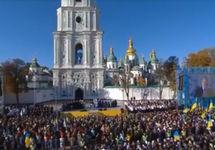 В Киеве прошел молебен за автокефалию