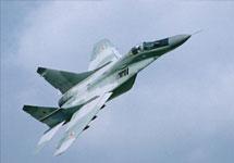 В Египте разбился купленный у России истребитель МиГ-29