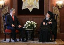 Порошенко и патриарх Варфоломей подписали договор о сотрудничестве