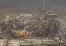 Пожары в Калифорнии: более 1200 пропавших без вести
