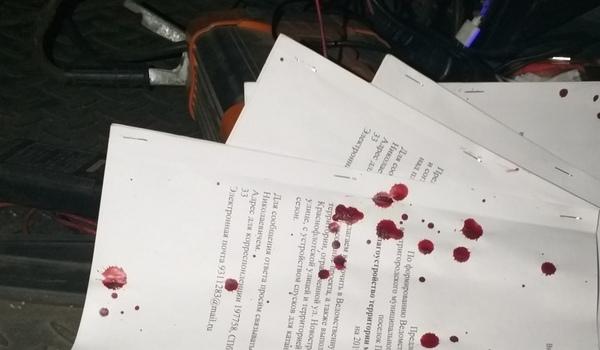 В Петербурге жестоко избит активист Начинкин