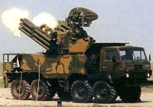 В Крыму размещен дивизион комплексов ПВО «Панцирь-С»