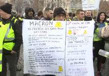 В Париже на акции «желтых жилетов» задержаны 575 человек