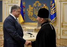 Порошенко попросил главу УПЦ МП Онуфрия помочь с освобождением моряков