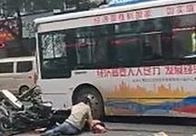 Наезд автобусом на прохожих в Китае: 5 погибших, 21 раненый