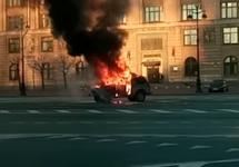 Петербург: у активиста Иванкина прошел обыск по делу о поджоге машины у Смольного