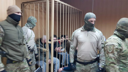 Аресты украинских пленных моряков продлены до 24 апреля