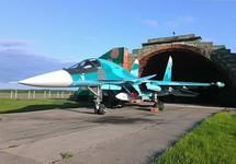 В небе над Дальним Востоком столкнулись два истребителя Су-34