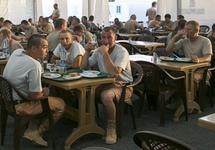 Морпех Ильясов, зарезавший подчиненного на базе Хмеймим, был осужден к ограничению по службе