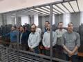 """На оглашении приговора по """"делу 12"""" в Уфе. Фото: Дарья Костромина"""