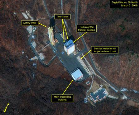 КНДР начала восстановительные работы на ракетном полигоне Сохэ