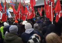 В Москве прошел митинг сторонников Удальцова и Гиркина