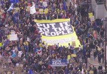 Brexit: в Лондоне прошел многотысячный на марш за повторный референдум