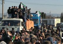 Ингушетия: демонстранты построили баррикады на въезде в Назрань