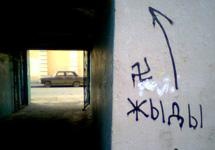 Курган: в суд уходит дело об антисемитских граффити