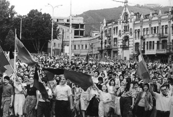 Тбилиси в крови: как убивает империя