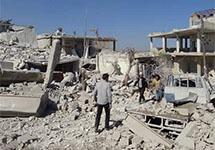 Гуманитарные организации прекратили работу в Сирии из-за боев