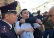 Первомай в Петербурге: Пивоваров и Шуршев получили 10 суток ареста