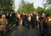 Екатеринбург: число арестованных защитников сквера достигло 30