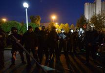 Екатеринбург: в сквере у Драмтеатра задержаны 15 человек